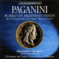 帕格尼尼:寡婦加農砲2 Paganini: Complete Violin Concertos (Vol. 2) (CD)【Dynamic】 - 限時優惠好康折扣