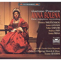董尼才第:歌劇《安娜.波莉娜》GaetanoDonizetti:AnnaBolena(3CD)【Dynamic】