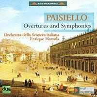 派謝羅:歌劇序曲與交響曲 Giovanni Paisiello: Overtures and Symphonies (CD)【Dynamic】 - 限時優惠好康折扣