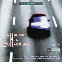 向盧.哈里森致敬第四集AHomagetoLouHarrison,Vol.4(CD)【Dynamic】