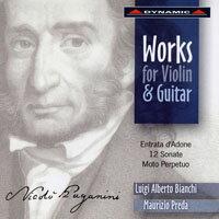 帕格尼尼:魔鬼的吉他情結II Paganini: Works For Violin And Guitar (CD)【Dynamic】 - 限時優惠好康折扣