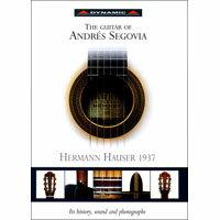 塞戈維亞與他最鐘愛的吉他 The Guitar Of Andres Segovia (CD+Book+Poster)【Dynamic】 - 限時優惠好康折扣
