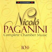 帕格尼尼:室內樂作品大全集 Nicolo Paganini: Complete Chamber Music (10CD)【Dynamic】 - 限時優惠好康折扣