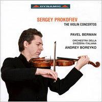 普羅高菲夫:兩首小提琴協奏曲 Prokofiev: The Violin Concertos (CD)【Dynamic】