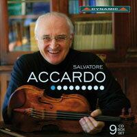 魔鬼帕格尼尼的第一把交椅-阿卡多的絕世琴藝 Salvatore ACCARDO (9CD)【Dynamic】 - 限時優惠好康折扣
