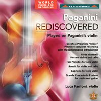 帕格尼尼的祈禱 Paganini Rediscovered (CD)【Dynamic】 - 限時優惠好康折扣