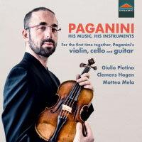 帕格尼尼:魔鬼的名琴 Paganini: His Music, His Instruments (CD)【Dynamic】 - 限時優惠好康折扣