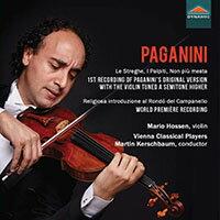魔鬼提琴手~馬里奧.侯森演奏帕格尼尼作品 Nicolo Paganini: Works for Violin and Orchestra (CD)【Dynamic】 - 限時優惠好康折扣