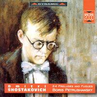 蕭士塔高維契:24首前奏曲與賦格 Shostakovich: 24 Preludes and Fugues, Op. 87 (3CD)【Dynamic】 - 限時優惠好康折扣