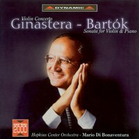 希那斯特拉:小提琴奏鳴曲&巴爾托克:小提琴奏鳴曲/小提琴:阿卡多 Ginastera: Violin Concerto & Bartók: Violin Sonata (CD)【Dynamic】 - 限時優惠好康折扣