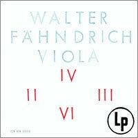 Walter Fähndrich: Viola (Vinyl LP) 【ECM】 - 限時優惠好康折扣