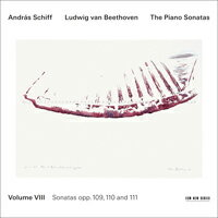 貝多芬鋼琴奏鳴曲集8|鋼琴:席夫 András Schiff / Beethoven: Piano Sonatas Vol.8 (CD) 【ECM】