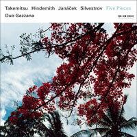 加扎納二重奏 Duo Gazzana: Five Pieces (CD) 【ECM】 - 限時優惠好康折扣