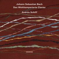 巴哈平均律鋼琴曲集|鋼琴:席夫 András Schiff / J. S. Bach: Das Wohltemperierte Clavier (4CD) 【ECM】