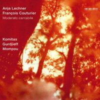 安雅.萊希納/法蘭西斯.考圖里爾:琴聲如訴 Anja Lechner / François Couturier: Moderato cantabile (CD) 【ECM】