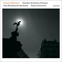 愛與崇拜~孟德爾頌與舒曼的小提琴協奏曲集 小提琴:卡洛琳.韋德曼/歐洲室內樂團 Carolin Widmann / Chamber Orchestra of Europe: Felix Mendelssohn Bartholdy / Robert Schumann (CD) 【ECM】