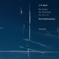 巴哈:六首無伴奏組曲 中提琴:金.卡許卡湘 Kim Kashkashian  /  J. S. Bach: Six Suites for Viola Solo (2CD) 【ECM】 - 限時優惠好康折扣