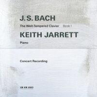 巴哈:鋼琴平均律第一冊|鋼琴:奇斯.傑瑞特 Keith Jarrett  /  J.S Bach: The Well-Tempered Clavier Book I (2CD) 【ECM】 - 限時優惠好康折扣