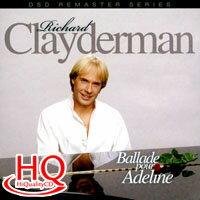 理查.克萊德門:給愛德琳的詩 Richard Clayderman: Ballade pour Adeline (HQCD) 【Evosound】 - 限時優惠好康折扣