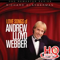 理查.克萊德門:安德魯洛伊韋柏情歌精選 Richard Clayderman: Love Songs of Andrew Lloyd Webber (HQCD) 【Evosound】