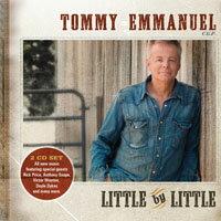 湯米.艾曼紐:漸漸TommyEmmanuel:LittleByLittle(2CD)【Evosound】