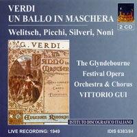 威爾第:歌劇《假面舞會》 (1949) Verdi: Un Ballo in Maschera (1949) (2CD) 【IDIS】 - 限時優惠好康折扣
