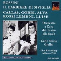 羅西尼:歌劇《塞爾維亞理髮師》(1956) Rossini: Il Barbiere di Siviglia (1956) (2CD) 【IDIS】 - 限時優惠好康折扣