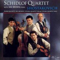 許洛夫四重奏:猶太風的室內樂 Schidlof Quartet: Shostakovich (CD)【LINN】