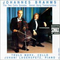 布拉姆斯:大提琴奏鳴曲|大提琴:莫克 Brahms: Cello Sonatas 1 & 2, & Seven Songs (CD) 【Simax】 - 限時優惠好康折扣