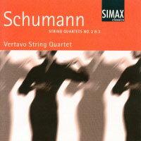 舒曼:第二、三號弦樂四重奏|維塔沃弦樂四重奏 Schumann: String Quartets No. 2 & 3 (CD) 【Simax Classics】 - 限時優惠好康折扣