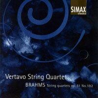 布拉姆斯:第一、二號弦樂四重奏|維塔沃弦樂四重奏 Brahms: String Quartets Op. 51, No. 1 & 2 (CD) 【Simax Classics】 - 限時優惠好康折扣