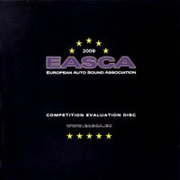 2009年歐洲車用音響測試片 EASCA competition evaluation disc (CD) 【Stockfisch】 - 限時優惠好康折扣