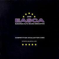 2009年歐洲車用音響測試片 EASCA competition evaluation disc