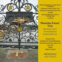 馬斯莫.法羅三重奏:古典心,爵士情 Massimo Farao' Trio: Moldau ~ plays classics (CD) 【Venus】 - 限時優惠好康折扣