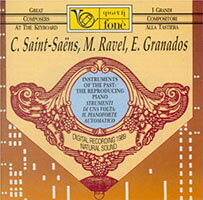 自動演奏鋼琴作品集-聖桑、拉威爾、葛拉納多斯 Instruments of the Past: The Reproducing Piano - C. Saint-Saëns, M. Ravel, E. Granados (CD)【fone】 - 限時優惠好康折扣