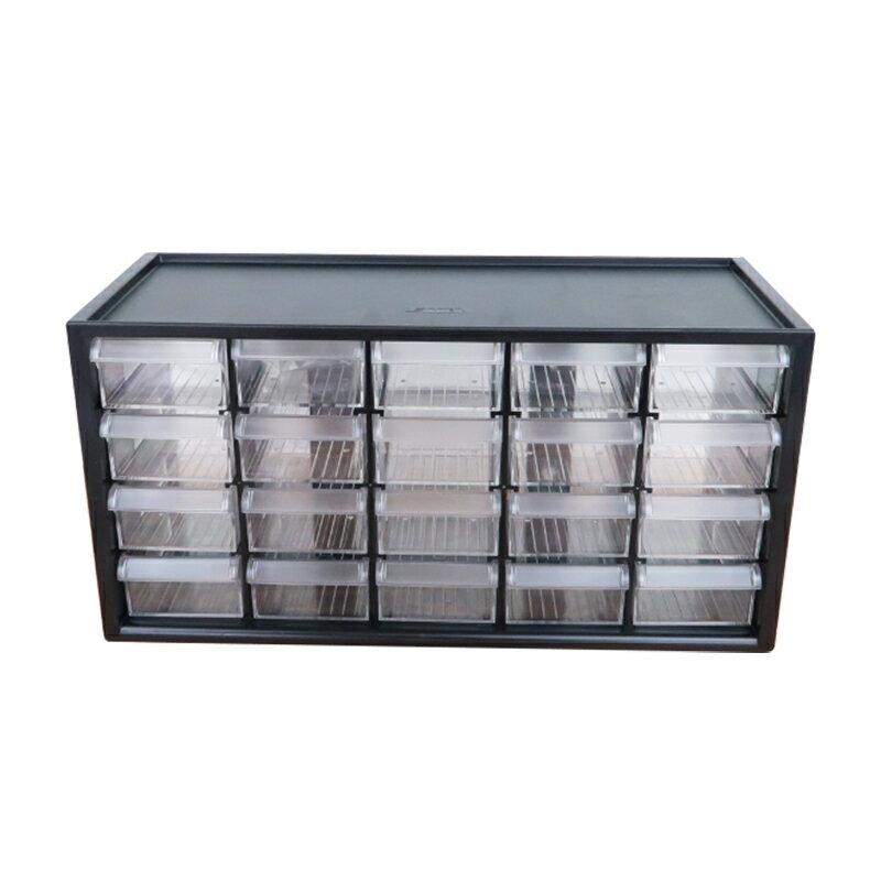 樹德零件分類箱20小格抽屜文具飾品小物收納箱書桌收納盒A9-520-大廚師百貨