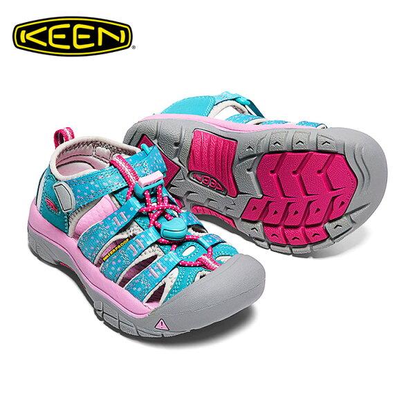 KEEN織帶涼鞋NewportH21016275《小童款》城市綠洲(KIDS、水陸兩用、輕量、戶外休閒鞋、運動涼鞋)