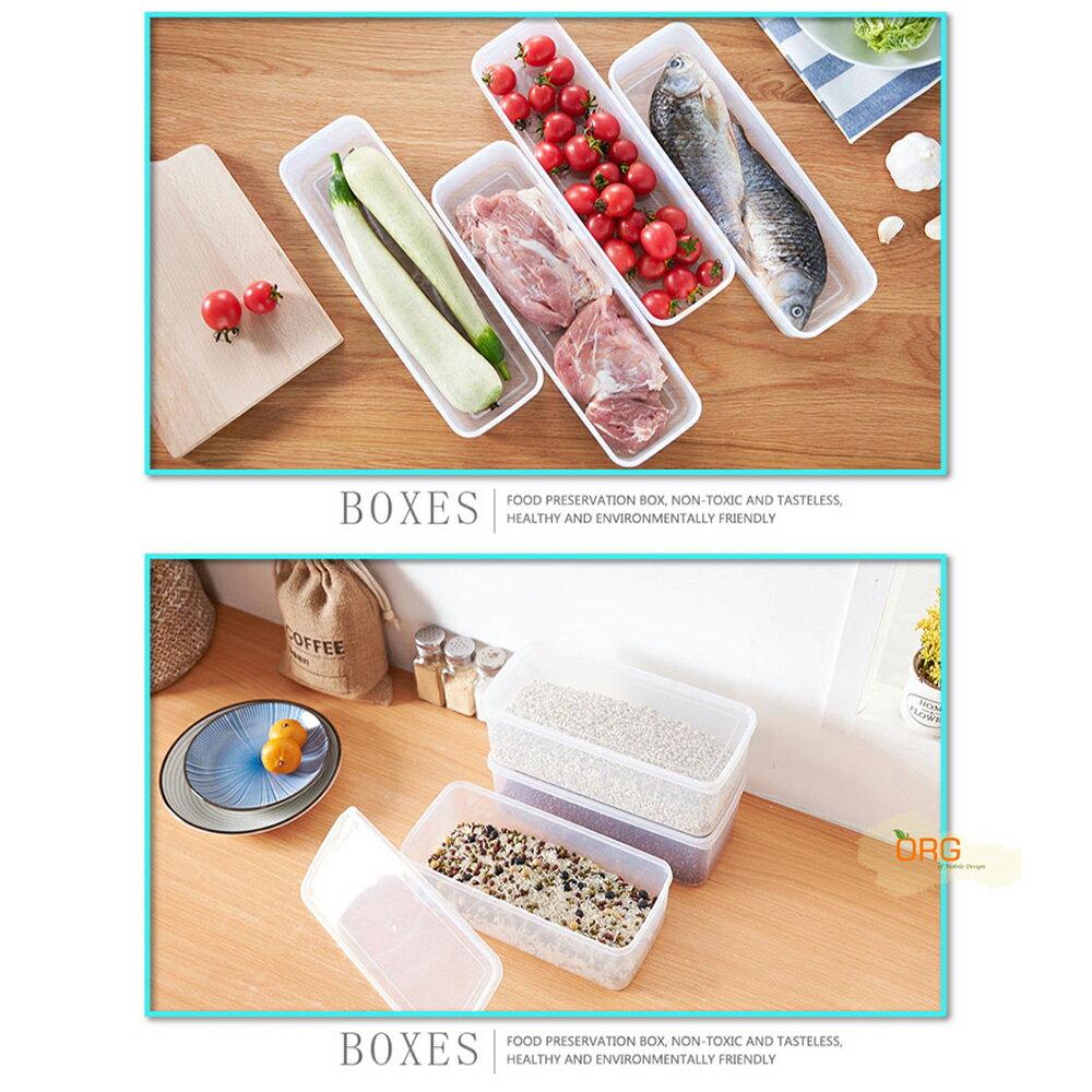 ORG《SD1673e》加高~帶蓋冰箱保鮮盒 冰箱 保鮮盒 餐具 收納盒 雞蛋盒 海鮮 密封保鮮 瀝水 置物盒 廚房用品 5
