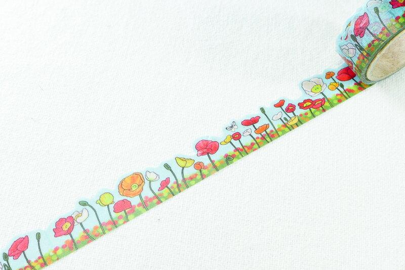 ~小徑文化~  Yano design 和紙膠帶 ~ 罌粟花   YD~MK~003