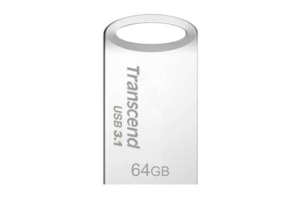 ViVi 魔兒:創見USB3.1JetFlash710極速隨身碟(冷調銀)