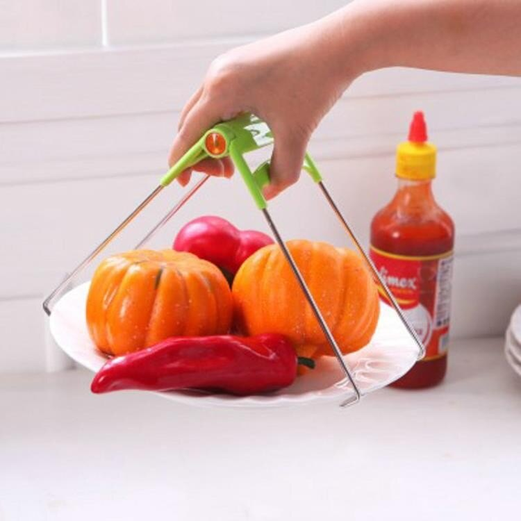 創意實用高品質不銹鋼燒烤夾取碗夾 取夾防燙夾碗器 取碗器《台北日光》