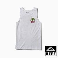 【新品上市】REEF 夏威夷衝浪鳳梨舒適印花男款背心上衣 . 白色 RF0A3SU4WHI-REEF-潮流男裝
