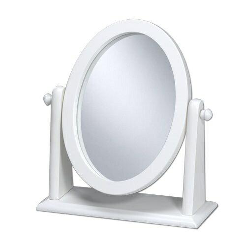 《閱讀歐洲》典雅靚白桌上鏡 (方型/圓型)