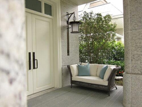 BALI 峇里 雙人沙發 戶外家具【7OCEANS七海休閒傢俱】REDDISH GREY 復古刷灰色 2