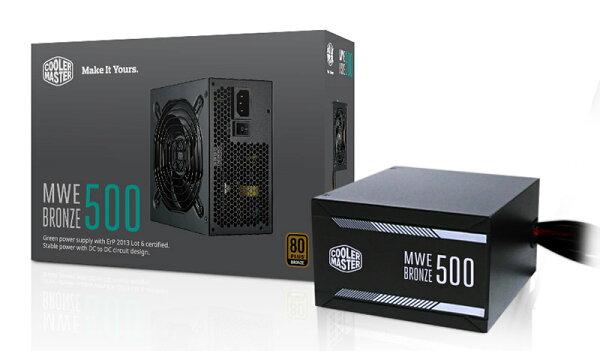 【迪特軍3C】COOLMASTERMWE系列MWEBronze500電源供應器PC電源供應器POWER
