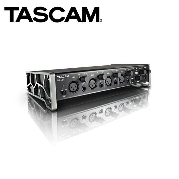 ◎相機專家◎TASCAM達斯冠US-4x4USB錄音介面4x4XLR48V幻像電源動態錄音公司貨