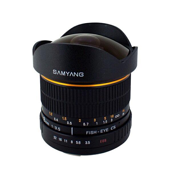 ◎相機專家◎SAMYANG8mmF3.5FisheyeforCanonEFAPS-C手動鏡正成公司貨保固一年