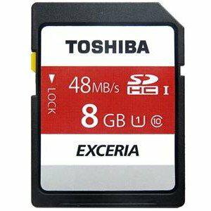 *╯新風尚潮流╭* TOSHIBA 8G 8GB SDHC UHS-I U1 C10 記憶卡 N301-08G