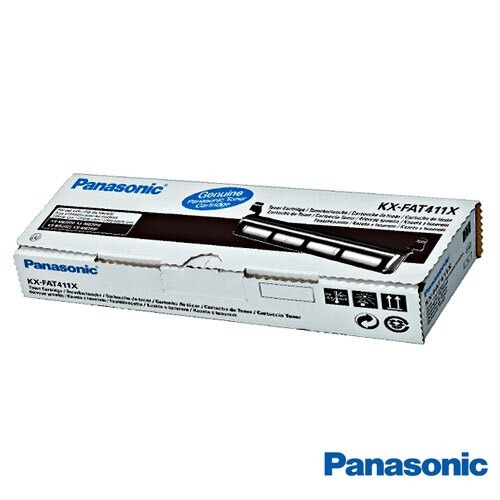 Panasonic國際牌 KX-FAT411H 黑色碳粉匣 適用Panasonic KX-MB2025TW、KX-MB2030TW