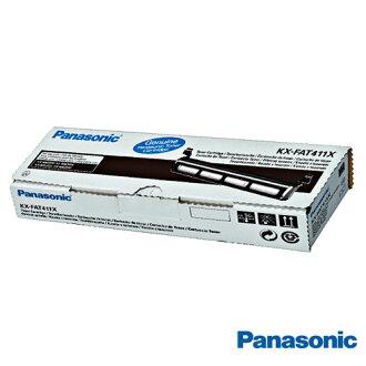 【會員可再折100元】Panasonic國際牌 KX-FAT411H 黑色碳粉匣 適用Panasonic KX-MB2025TW、KX-MB2030TW